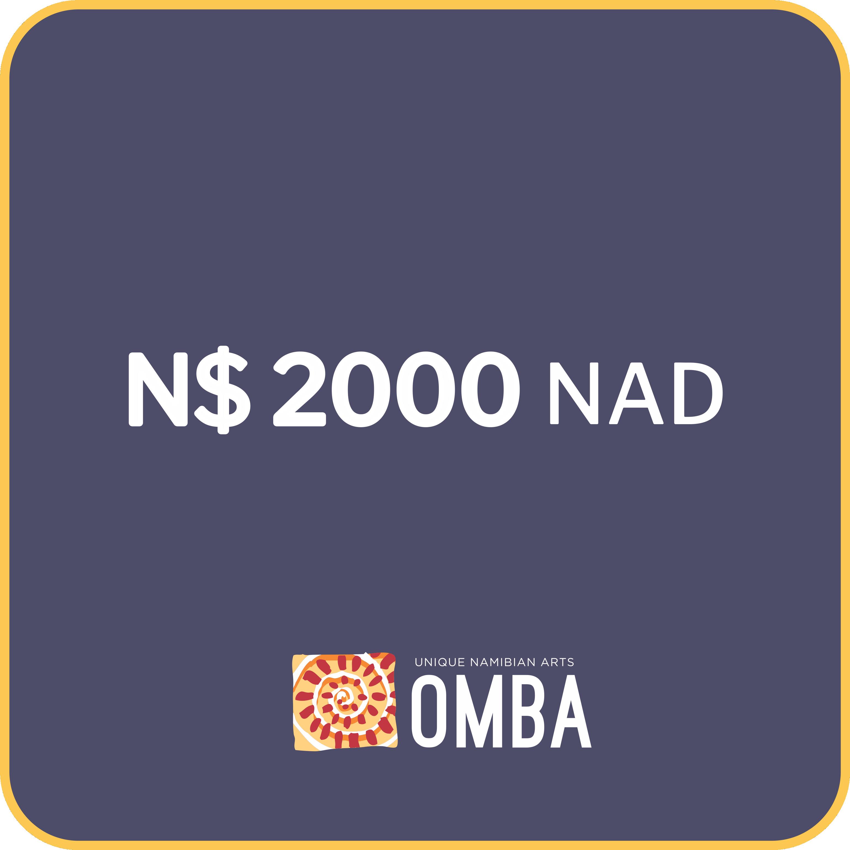 Donation - NAD 2000
